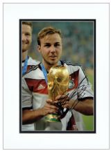 Mario Gotze Autograph Signed Photo - Germany World Cup